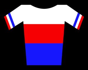 Zdeněk Štybar - Image: Maillot República Checa