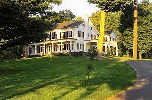 Harding Farm - Image: Main house at harding farm
