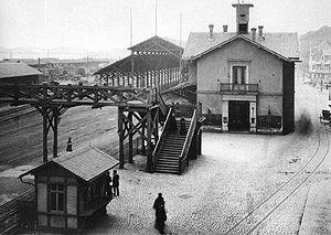 Mainz Hauptbahnhof - Former station on the Rheinstraße