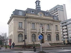 L'Île-Saint-Denis - The town hall of L'Île-Saint-Denis