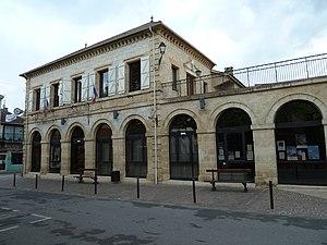 Prayssac - The town hall of Prayssac