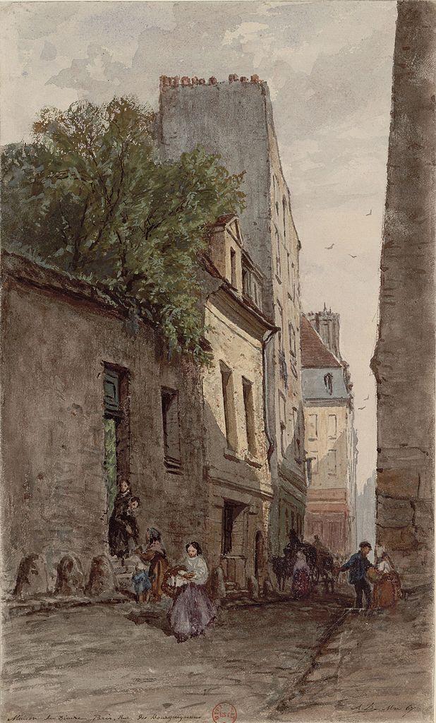 Fichier maison du diacre fran ois de p ris rue des bourguignons par adrien wikip dia - Maison s par domenack arquitectos ...