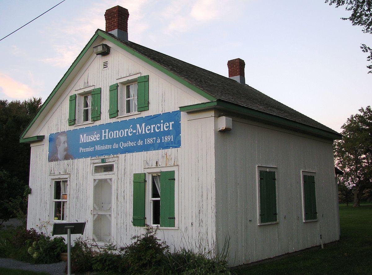 Maison natale honor mercier wikip dia for Articles de maison anglo canadian s e c