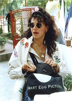 Maja Sabljic u Nisu - Filmski susreti krajem 90-ih.jpg