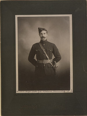 Victor Williams (general) - Image: Major Victor AS Williams No 15318 (HS85 10 11346)