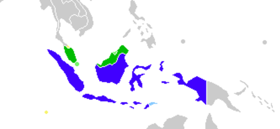 Malay language Spoken Area Map v1