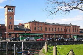 Malmö Central Station - Image: Malmö C, centralplan