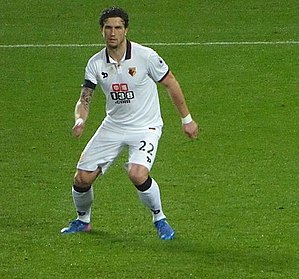 Daryl Janmaat - Janmaat with Watford in 2017