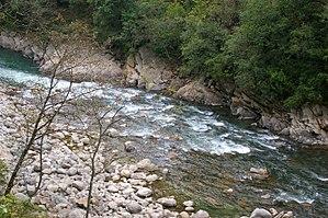 Mandakini River - Image: Mandakini near Guptakashi
