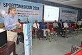 Manebendra Bhattacharyya Delivering Lecture - Quality Sportsperson - SPORTSMEDCON 2019 - SSKM Hospital - Kolkata 2019-03-17 0023.JPG
