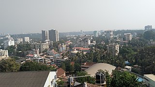 Mangalore City in Karnataka, India
