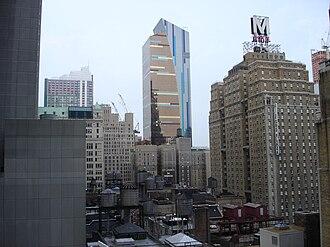 Row NYC Hotel - Image: Manhattan 01