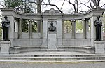 Manhattan Central Park Richard Morris Hunt Memorial.JPG