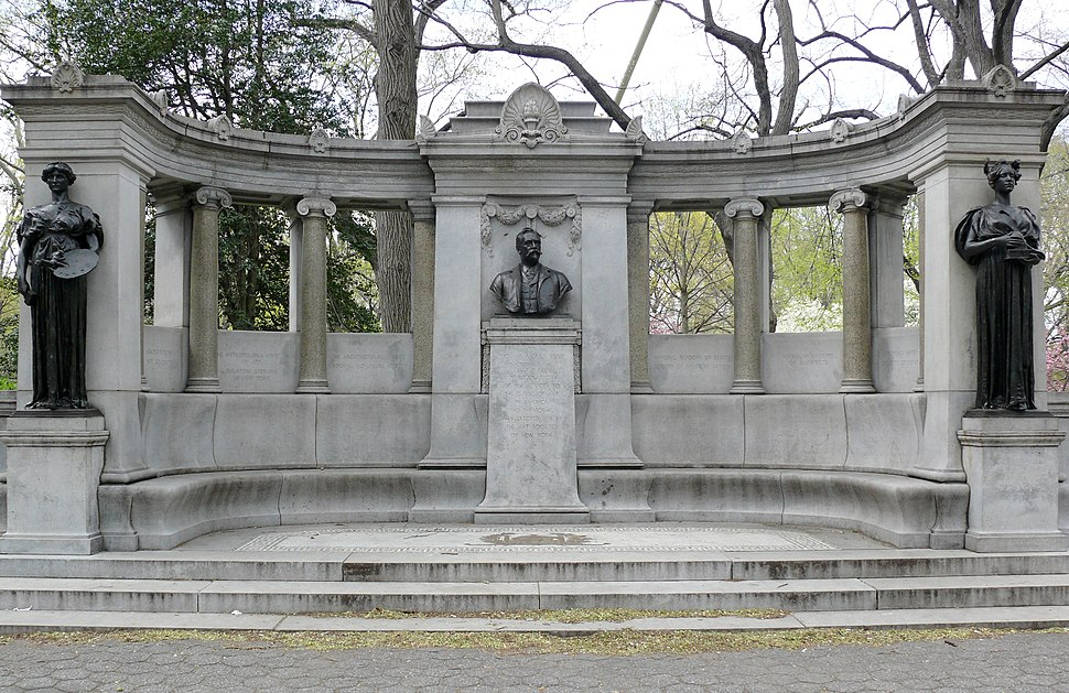 Manhattan Central Park Richard Morris Hunt Memorial
