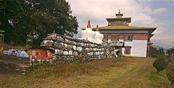 Mani stone slabs outside Tashiding Monastery.jpg
