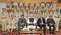 Manmohan Singh with the 64th Batch of IPS Probationers, in New Delhi on December 26, 2012. The National Security Advisor, Shri Shivshankar Menon and the Union Home Secretary, Shri R.K. Singh are also seen (1).jpg