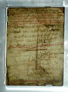 Carta autógrafa de S. Francisco para o Irmão Leo