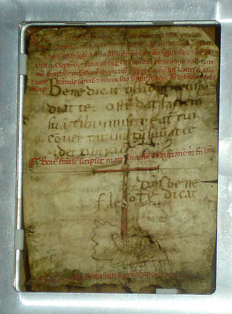 Tau Cross - Autograph letter of Francis of Assisi