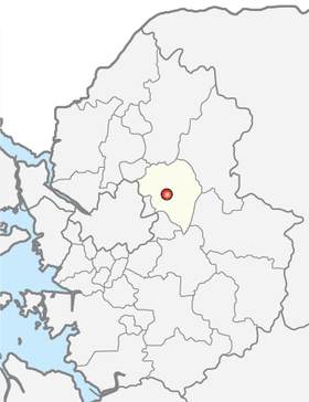 Location of Namyangju