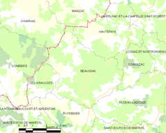 Map commune FR insee code 24033.png