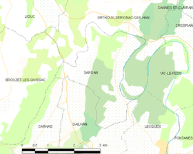 Map commune FR insee code 30309.png