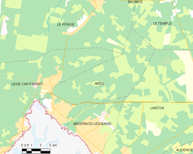 Map commune FR insee code 33011.png