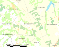 Map commune FR insee code 40022.png