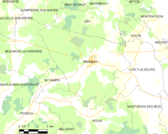 Map commune FR insee code 58218.png
