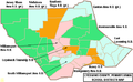 Map of Lycoming County Pennsylvania School Districts.png