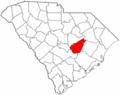 Map of South Carolina highlighting Clarendon County.png