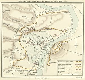 Map of the Siege of Widdin (1878).jpg