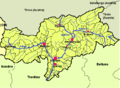 Mappa provincia autonoma di Bolzano (Alto Adige).png