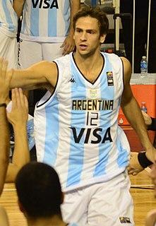 Marcos Delía Argentine basketball player