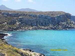 Aegadian Islands - Cala Rossa, Favignana