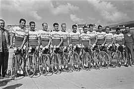 Margnat-Paloma team, Tour de France 1964.jpg