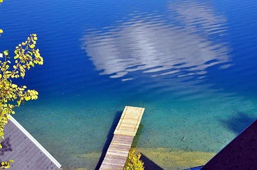 Maria Woerth Woerther See Kap Sekirn Badesteg 09102008 55