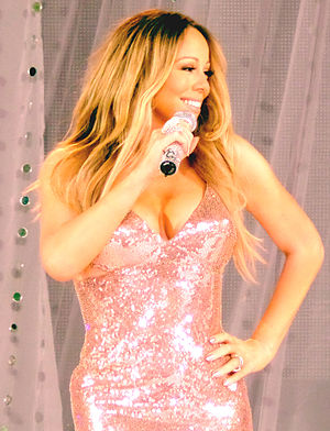 20 Y.O. - A duet with Mariah Carey (pictured) was planned for the album.