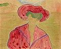 Marianne von Werefkin - Girl in Red.jpg