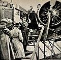 Marie og Gulbrand Lunde Et liv i kamp for Norge Rikspropagandaledelsen Blix forlag 1942 Page 048 Fra en av ministerens reiser i Nord-Norge (Lufthansa).jpg