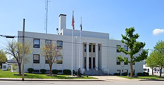 Maries County, Missouri - Image: Maries County MO Courthouse 20160423 1893