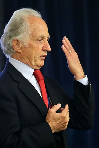 Mario Capecchi - Capecchi at a conference in 2013