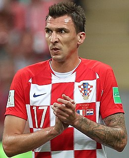 Mario Mandžukić Croatian association football player
