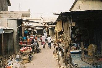 Kaolack - Kaolack Market