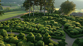 image illustrative de l'article Jardins de Marqueyssac
