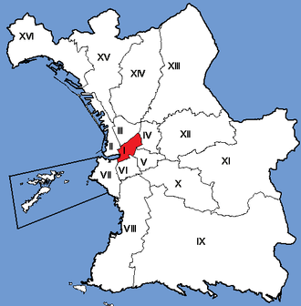 1st arrondissement of Marseille - Image: Marseille Arrondissements 01