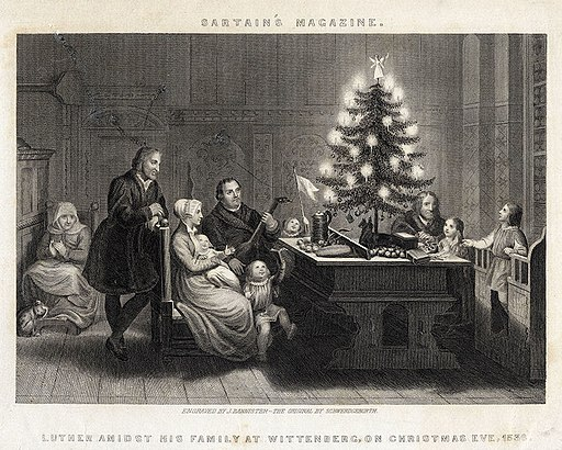 Martin Luther's Christmas Tree