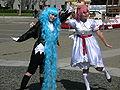 Maru & Moro cosplayers at 2010 NCCB 2010-04-18 2.JPG