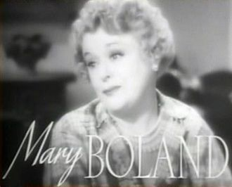 Mary Boland - in the trailer for The Women (1939)