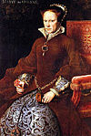 Mary I, by Antonius Mor, 1554