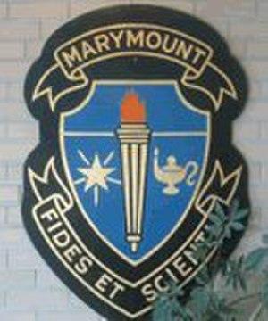 Marymount Academy - Image: Marymount Academy crest